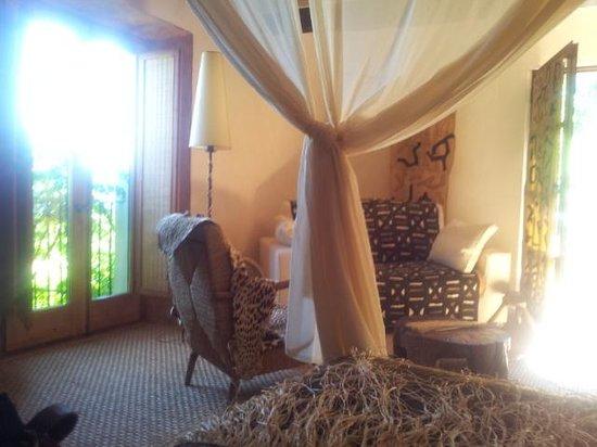 Can Serola : African room