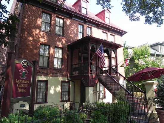 Historic Inns of Annapolis : Governor Calvert House