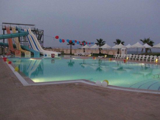 Fun Pool And Slides Picture Of Khayam Garden Beach Resort And Spa Nabeul Tripadvisor