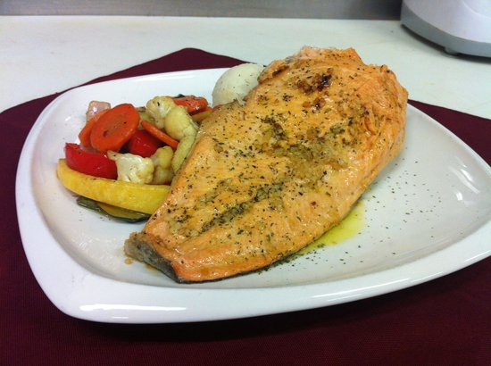 Little Red Rooster : Delicious rainbow trout