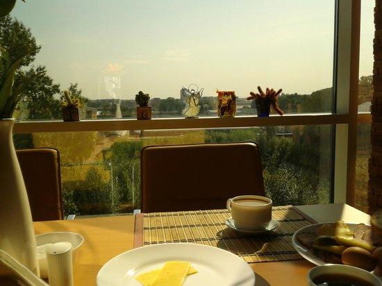 Baltpark Hotel: Вид из бара-ресторана