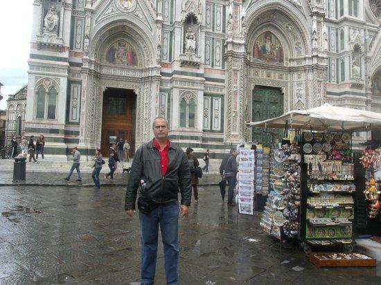 olha eu em Florença!!! - Foto di Soggiorno Cittadella, Firenze ...
