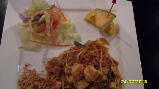 Pad Thai Lunch Plate Picture Of Thai House Cuisine Open