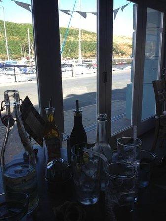 The Boatyard Restaurant: Lovely setting