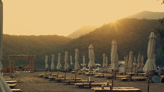 The Sugar Beach Club: Kumsal