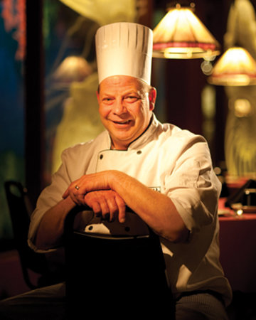 The Fireside Restaurant: Head Chef Mike