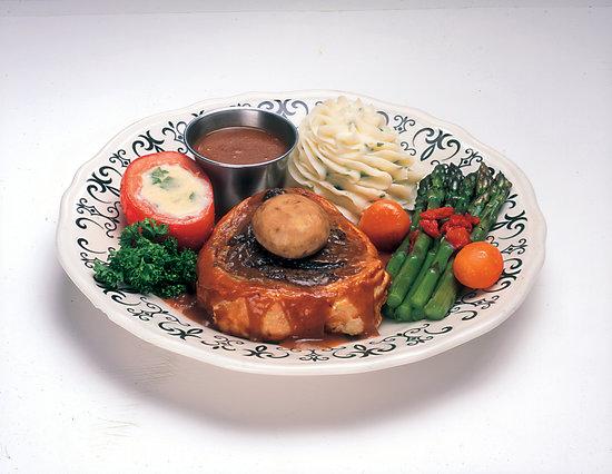 The Fireside Restaurant: Beef Wellington