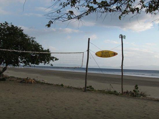 Playa Hermosa Beach Hotel: Beach view