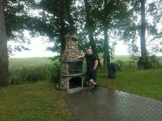 Gosciniec Olecki: Frying place