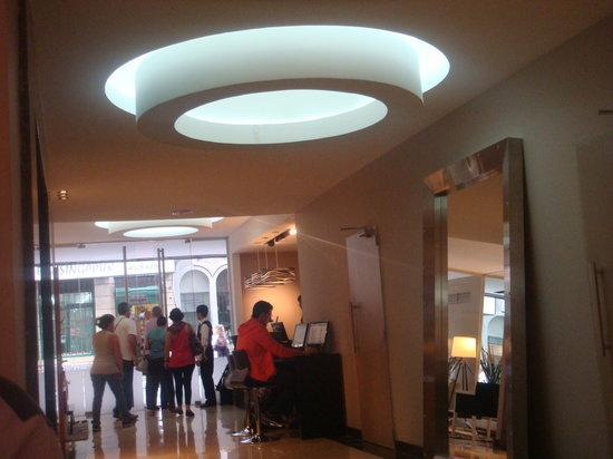 Recepção do Galerias Hotel