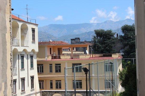 Hotel Mignon Meuble: balcon