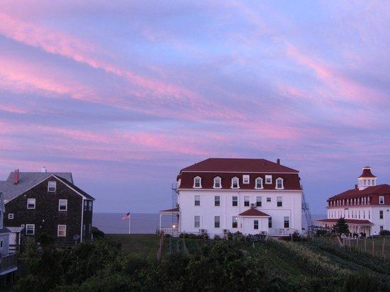 The Atlantic Inn: Sunset from Atlantic Inn Jul 31, 2013
