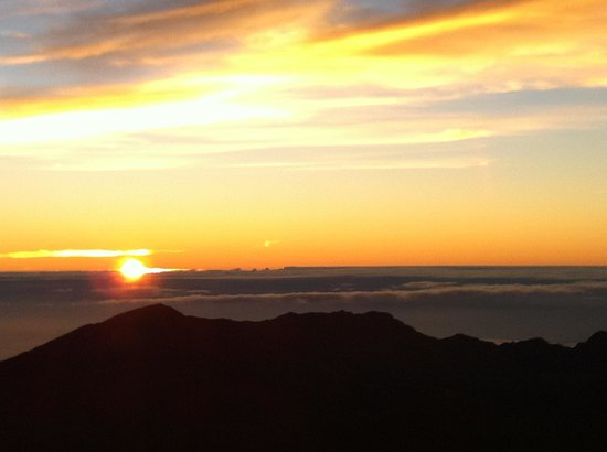 Haleakala Crater: Haleakala Sunrise