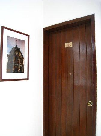 Hotel Parador Crespo: Hallways