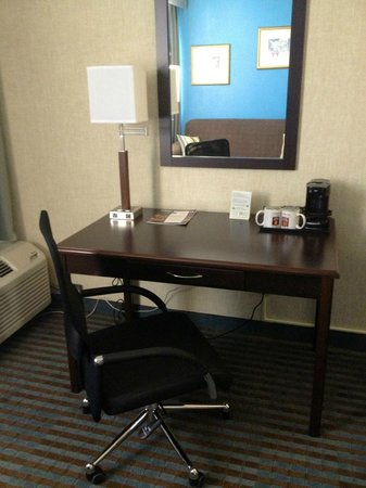 Clarion Hotel and Convention Center: Desks