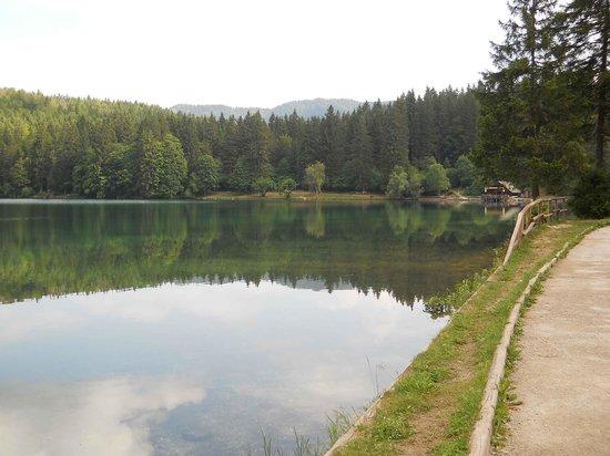 Albergo al Sole: lago di fusine