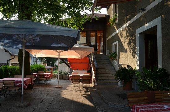 Gostilna Metka: La terrasse
