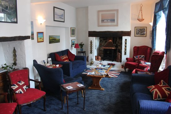 The Old Bakehouse: Our cosy guest lounge