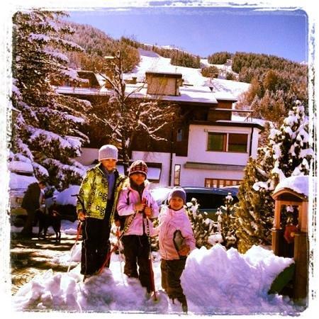 Hotel Vallechiara: felici d'inverno