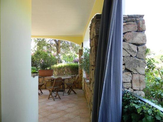 Nyce Club Smeralda Village: veranda