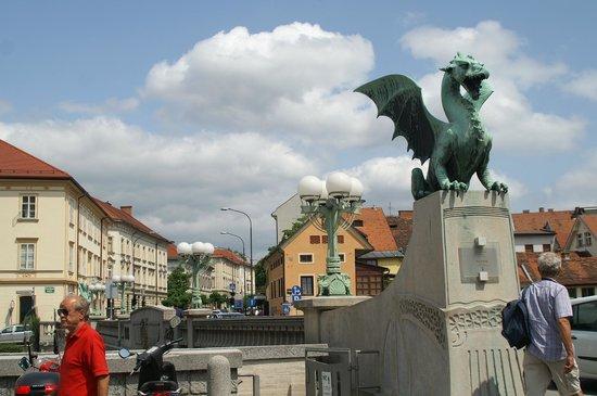 Ahotel Hotel Ljubljana: Ljubljana sites