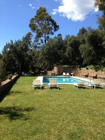 Finca Bell-lloc: La piscina
