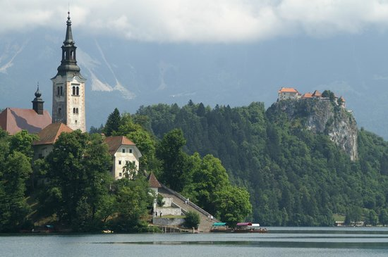 Ahotel Hotel Ljubljana: Lake Bled is 45 minutes away