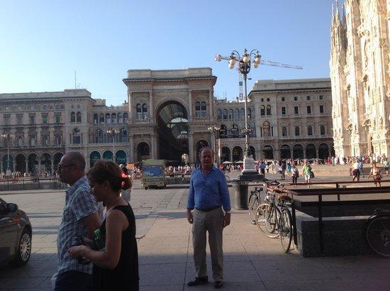 Hotel Roxy: PLAZA DE VITORIO EMANUELE EN MILAN