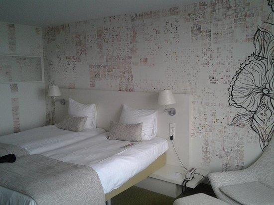 Una delle stanze dell'Hotel BLOOM!