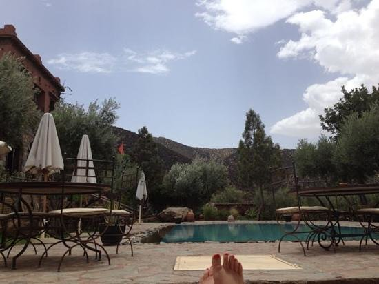 Chez Momo II : view from the lounger