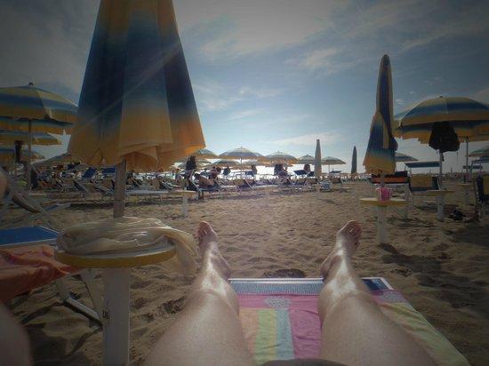 Hotel Butterfly: Relaxen am Strand