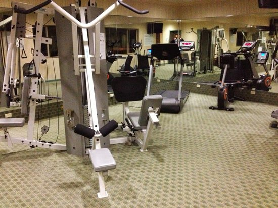 Holiday Inn Express Fort Bragg: HI Express Fort Bragg: Fitness Room