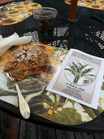 Mountain Pie and Cake Company : Caramel Apple Walnut Pie at Mountain Pie & Cake Company.. a Bakery Cafe in Hendersonville, NC.