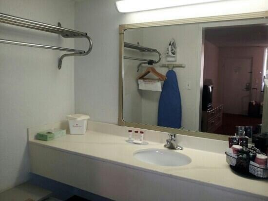 Ramada by Wyndham Tampa Airport Westshore: spotless bathroom