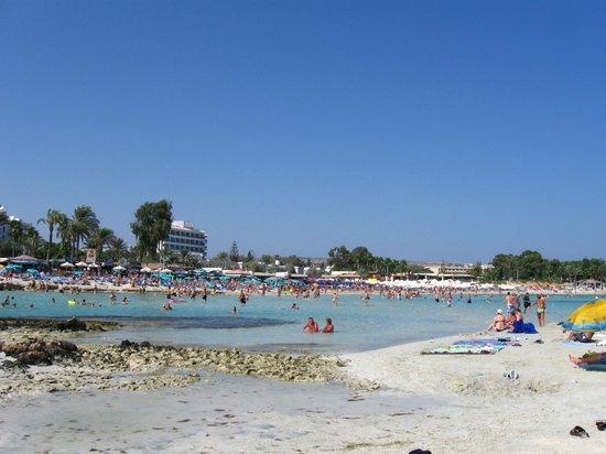 Nissiana Hotel & Bungalows: Пляж