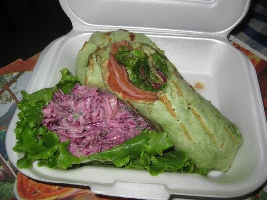 Moya's Place: Italian. heart attack wrap