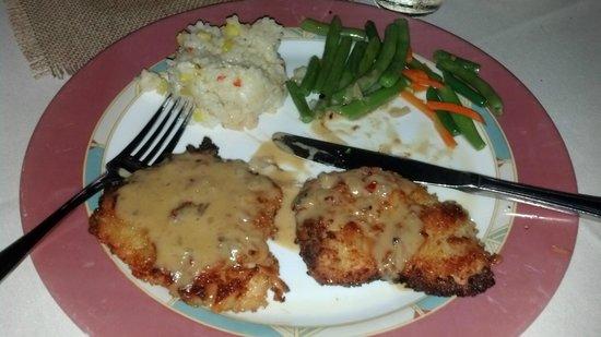 Otter Cove Restaurant: Malibu Chicken