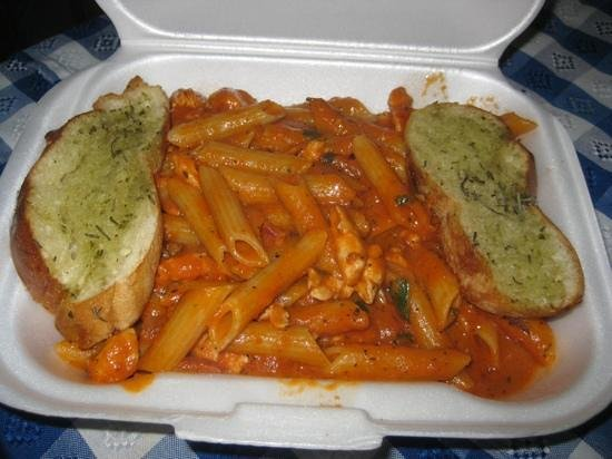 Moya's Place: penne chicken pasta