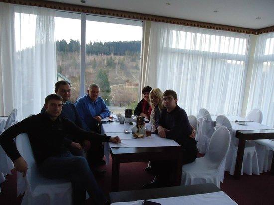 Santa Maria Hotel: осень 2012 ужин с родственниками