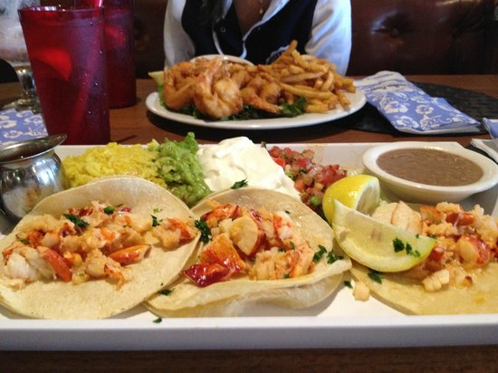 Paradise Cove: The Ultimate Lobster Tacos and the Golden Fried Jumbo Ocean Shrimp