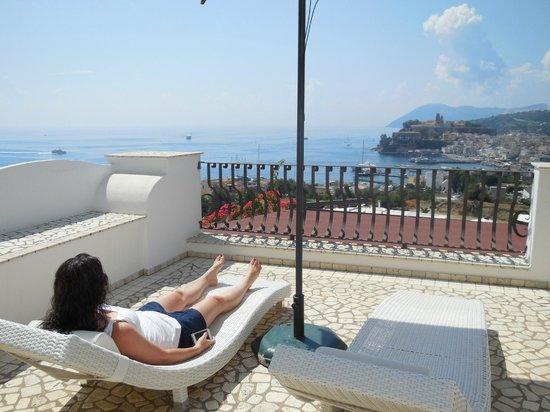 Hotel Villa Enrica - Country Resort: Private Patio off room 27 is unbeatable