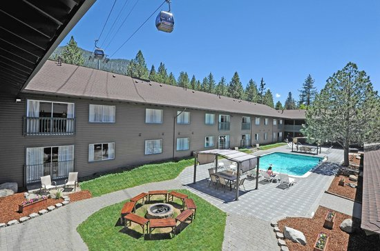 Forest Suites Resort at Heavenly Village : Pool 2 & FirePit