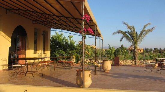 Riad Le Ksar de Fes : la terrasse