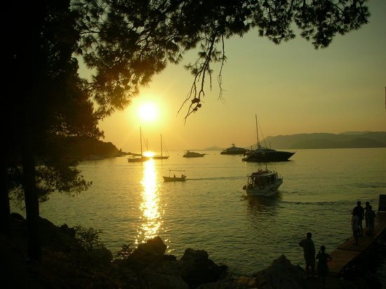 cavtat sunset