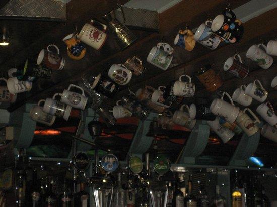 Anchor Bar: Bar ceiling