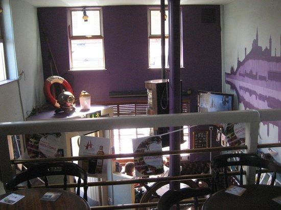 Anchor Bar: Bar from upstairs