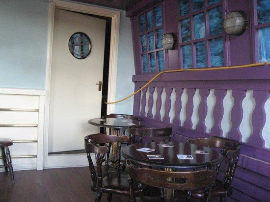 Anchor Bar: Upstairs seating