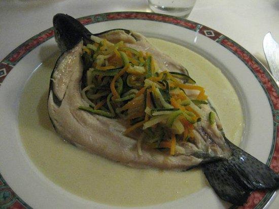Hostellerie Schwendi: la truite aux légumes