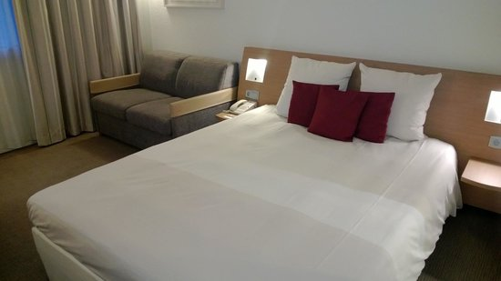 Novotel Brussels Airport: Bedroom