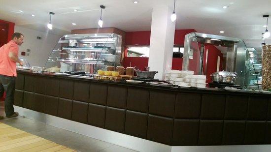 Novotel Brussels Airport: Restaurant